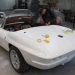 1963 Chevrolet Corvette (Sting Ray - Convertible) [JS] - 05 - Body & Paint 029